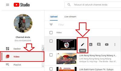 Menambahkan Layar Akhir dan Kartu Video Youtube