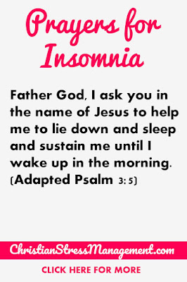 Prayers for insomnia