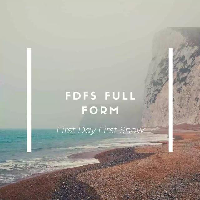 FDFS full form