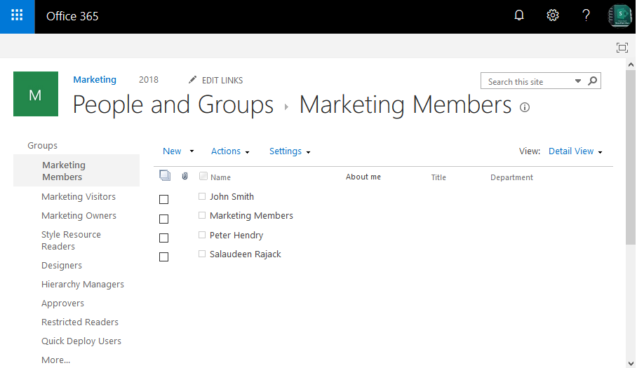 get sharepoint online group members powershell