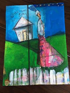 Recycled Mailer Sharon Harkness-Dobler OOAK Artisans