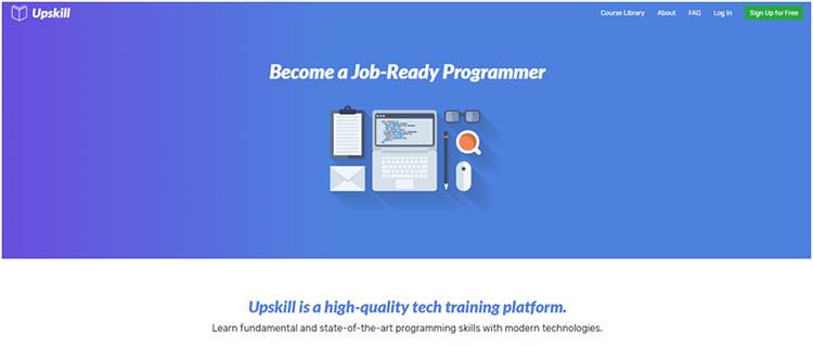Upskill - Website Belajar Coding Online untuk Programmer Pemula