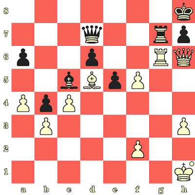 Les Blancs jouent et matent en 4 coups - Lenier Dominguez vs Evgeny Postny, Netanya, 2019