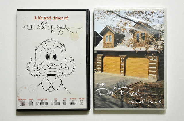 """Life and times of Don Rosa"" (2010) and ""The Don Rosa House Tour"" (2011)"