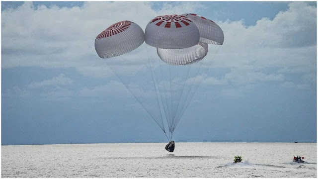 Inspiration(al) says world as four civilians return to Earth after three-day trip to heavens