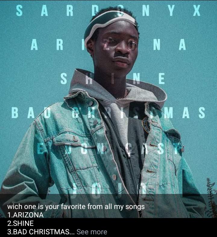 Sardonyx's jojo of a song, will make you forget coronavirus #Arewapublisize