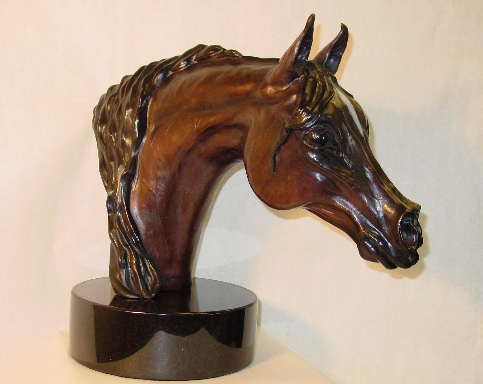 Evelyn Davis Art: Horse Sculptures