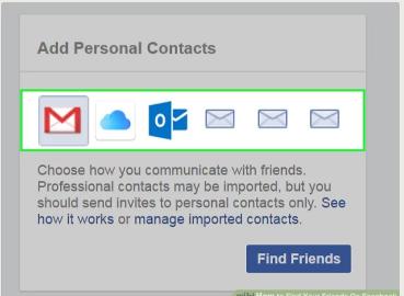 Facebook Login Find Friends