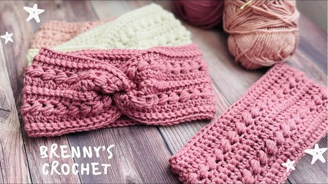 Paso a Paso de Diadema-Turbante a Crochet