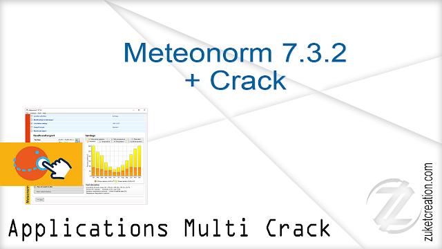 Meteonorm 7.3.2 + Crack  |  259 MB