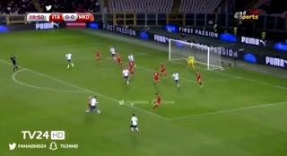 فيديو : ايطاليا تتعادل مع مقدونيا بهدف لكل منهما وتتجه للملحق الأوروبى الجمعة 06-10-2017 تصفيات كأس العالم 2018: أوروبا