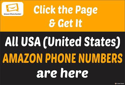 Amazon Phone Number USA (United States) | All USA (United States) Amazon Phone Number are Here