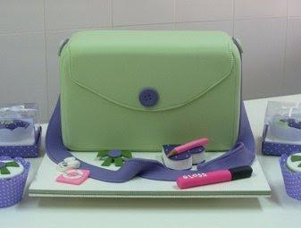 bolos de bolsas - cake design