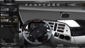 Mercedes Benz Actros interiors by pit19169