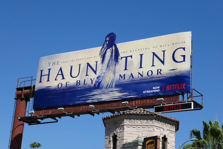 Haunting of Bly Manor extension billboard