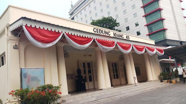 Mengenal Gedung Joang 45, Tempat Deklarasi Pasangan Jokowi - Ma'ruf Amin