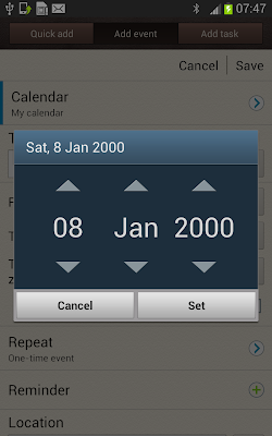 DatePickerDialog In Android