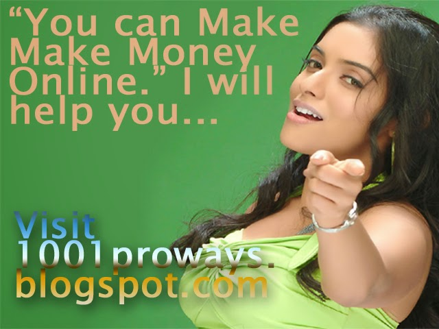 Who can Make Money Online? 1001proways.blogspot.com
