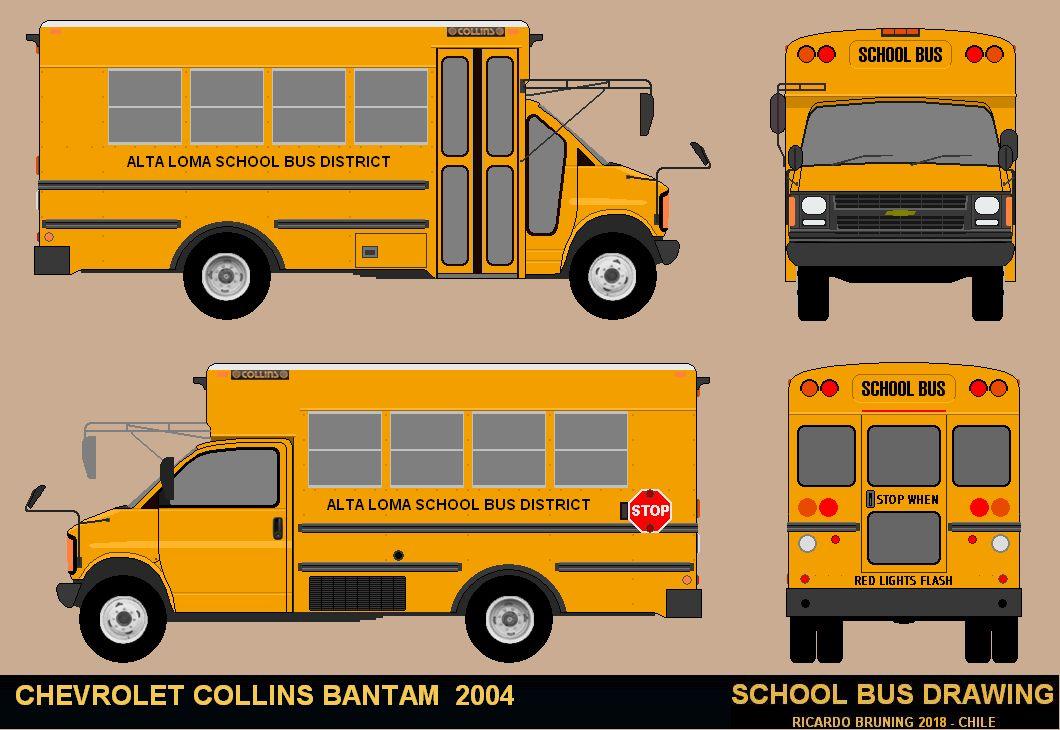 Dibujos De Buses School Bus 2