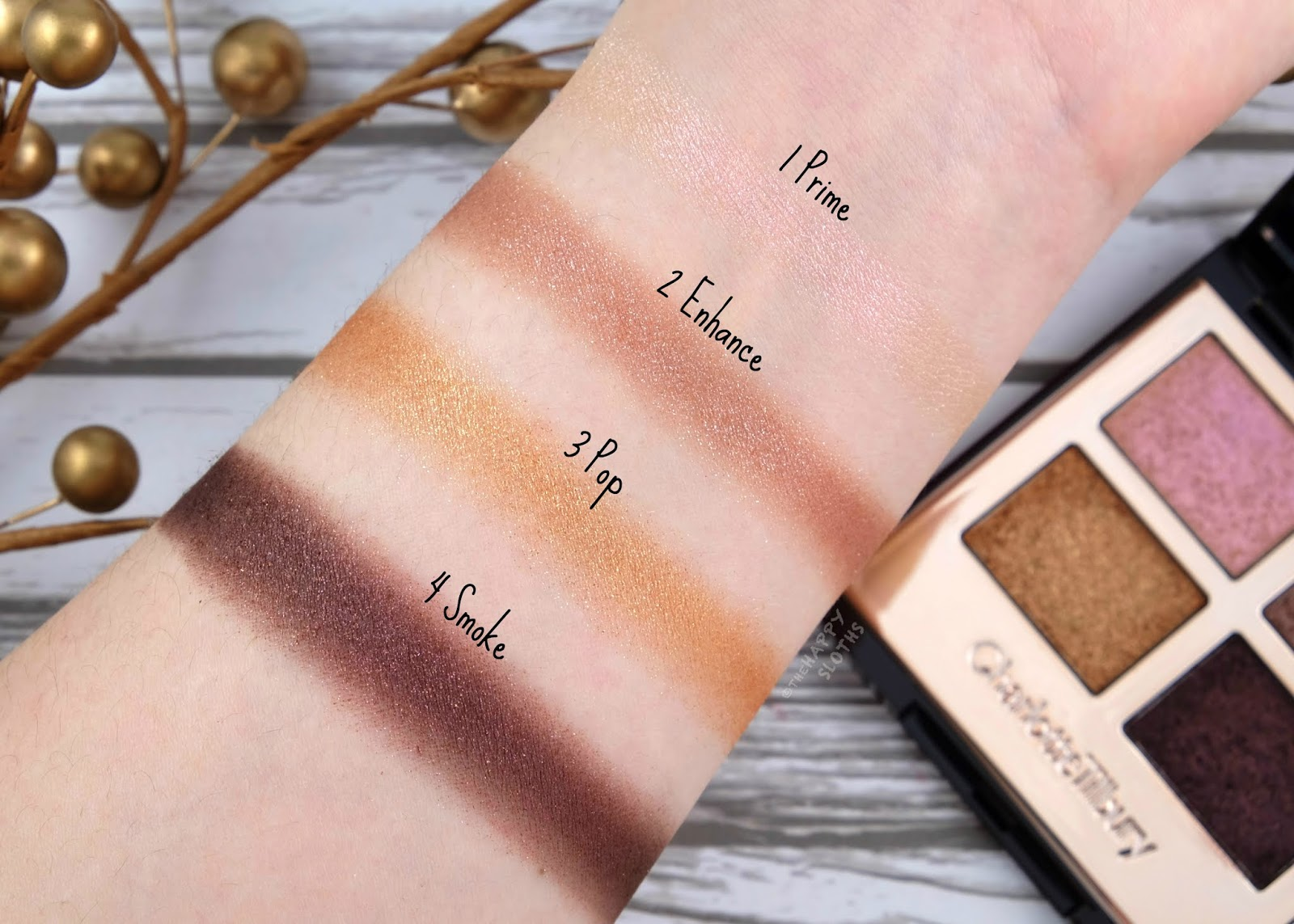 Charlotte Tilbury   Celestial Eyes Luxury Palette of Pops: Review and Swatches