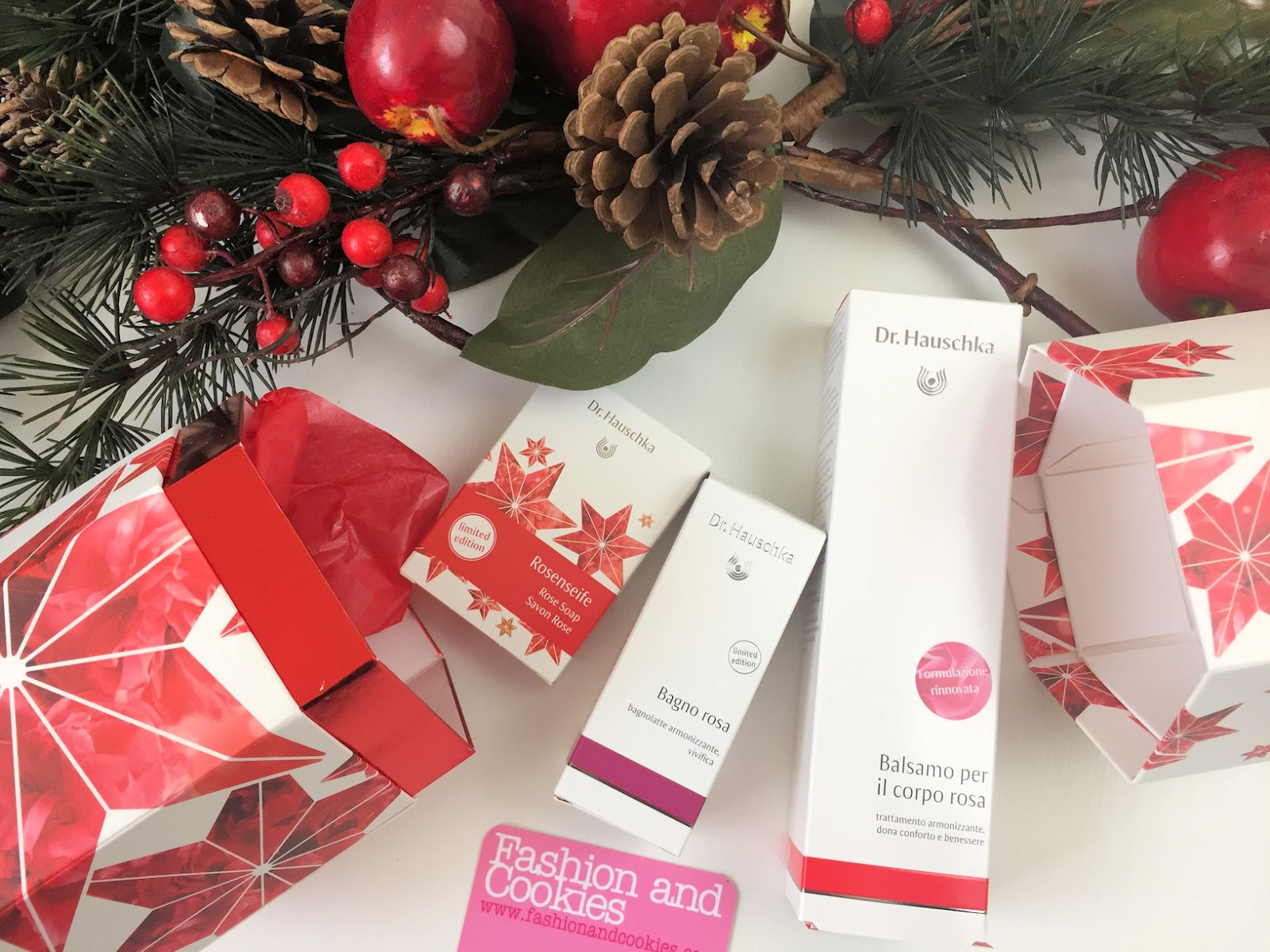 "Idee regalo Natale: cofanetto edizione limitata Dr. Hauschka ""I Segreti della rosa"" su Fashion and Cookies beauty blog, beauty blogger"