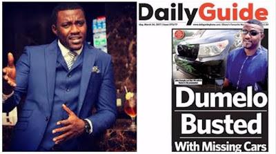 Toyota Land Cruiser, Car chase, Jihn Dumelo, News, Ghanaian actor, Entertainment,
