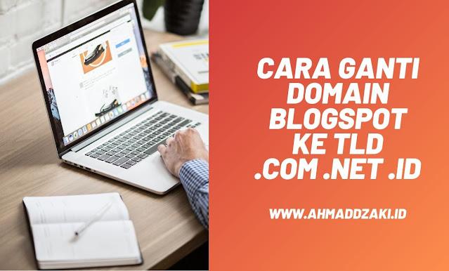 cara domain blogspot ke tld
