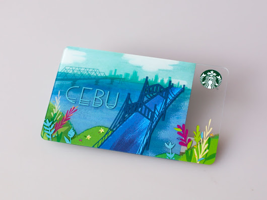 Starbucks Features Cebu Bridges in Cards, Introduces New Fruity Fraps
