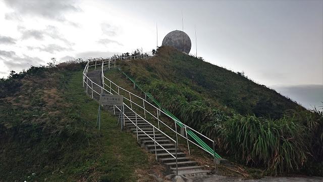 「大老山氣象站」