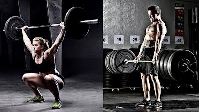 Crossfit ejercicios sentadilla peso muerto
