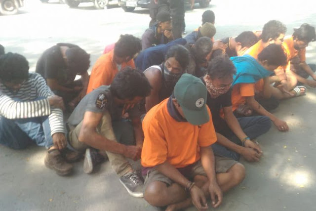 87 Penjarah di Palu Ditangkap, yang Dicuri Ponsel hingga Ban Motor