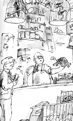 Strange Library: Gremlins, The Magic Finger (El dedo