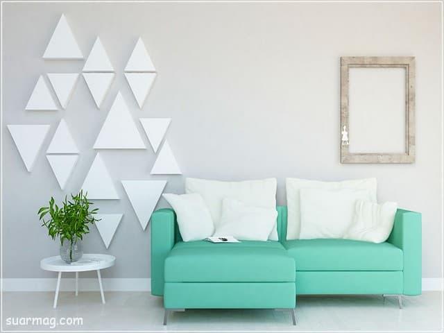 ديكورات شقق - ديكورات حوائط 5 | Apartments Decors - Wall Decorations 5