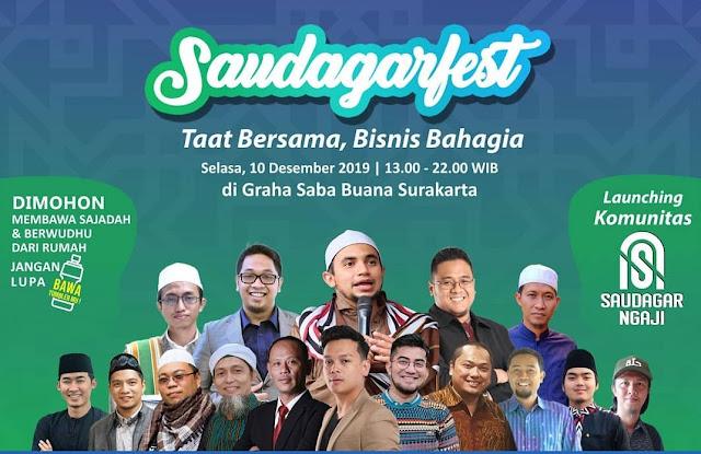 Saudagar Festival 2019 Kembali Digelar di Kota Solo