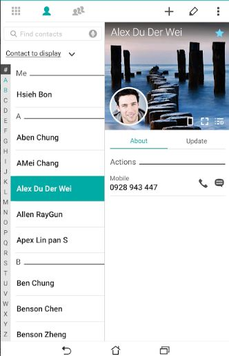 Download ZenUI Dialer App for Android