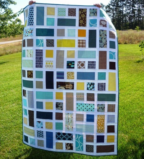 Rectangle Squared – Quilt Block Tutorial