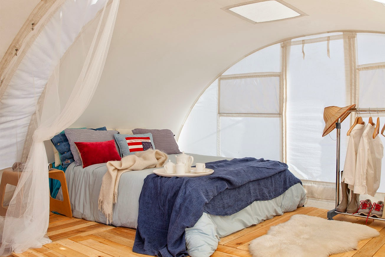 Glamping tent, luxury space Ctents