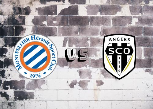 Montpellier vs Angers  Resumen