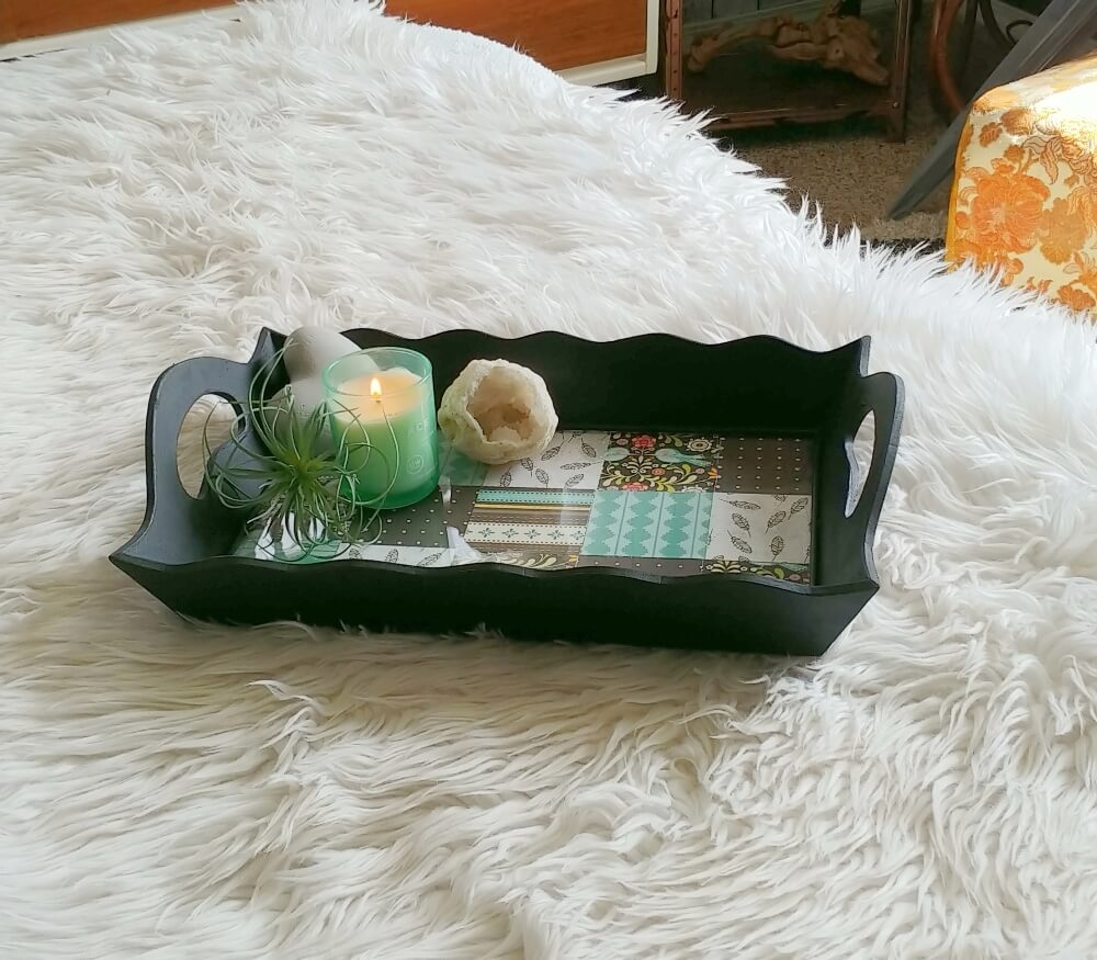 Upcycled Wooden Tray