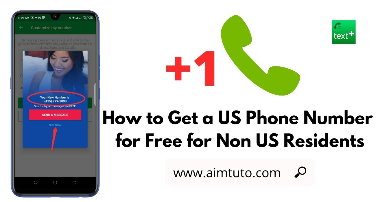 How to Get a US Phone Number for Free from Outside the US