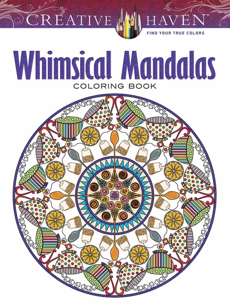 Creative Haven Whimsical Mandalas By Shala Kerrigan
