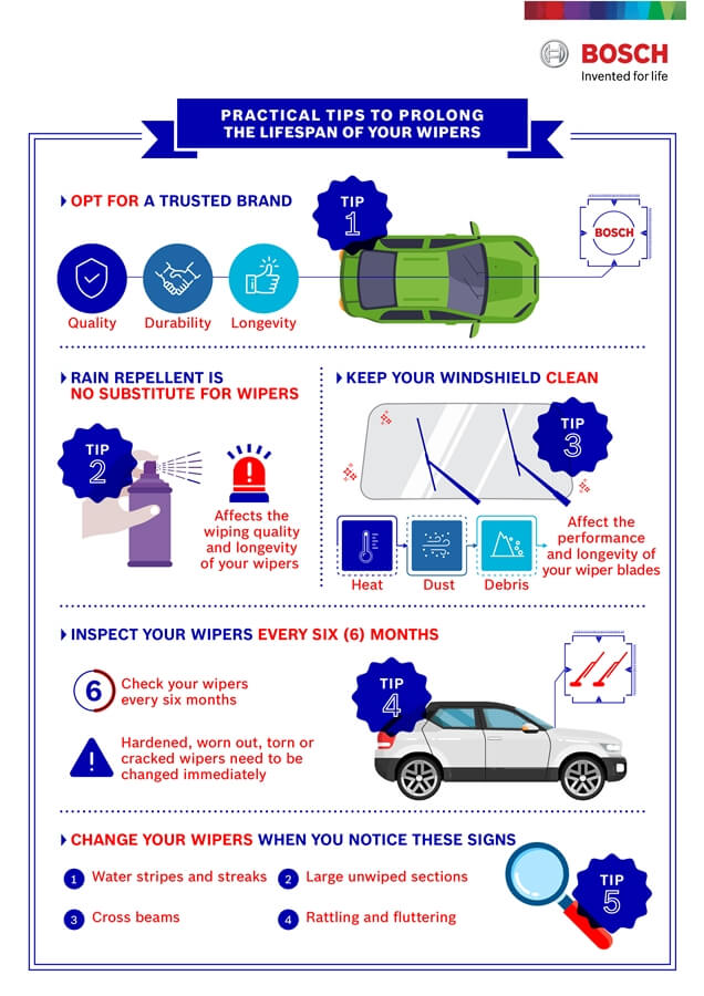 Practical Tips to Prolong the Lifespan of your Wipers