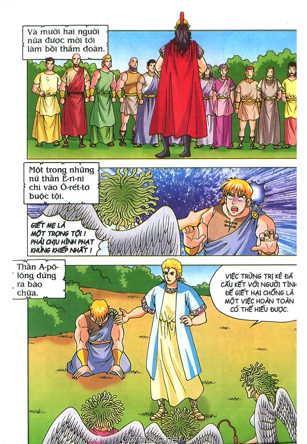Thần Thoại Hy Lạp Màu - Chapter 71: Nàng Ê lếch tơ 2 - Pic 44