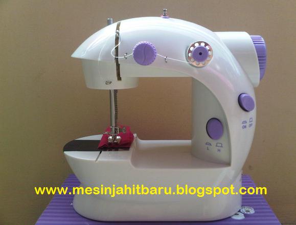 Review Mesin Jahit Mini Portable