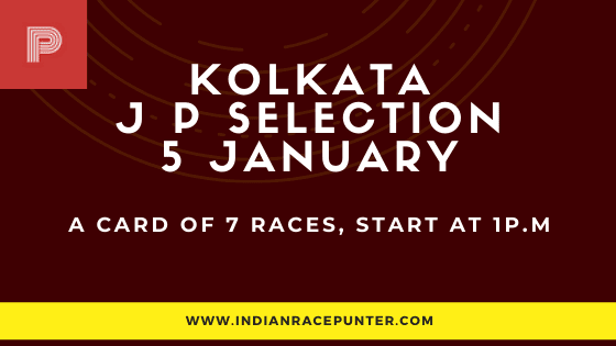 Kolkata Jackpot Selections 5 January