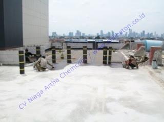 waterproofing membrane bakar untuk atap gedung