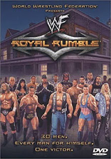 WWE / WWF Royal Rumble 2001 - Event poster