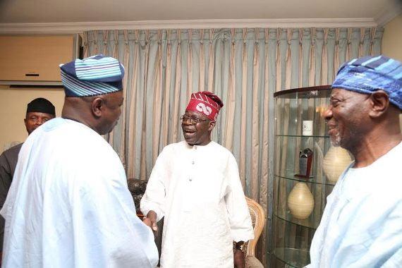 VP Osinbajo, Lagos governor Ambode, others visits Tinubu during Eid