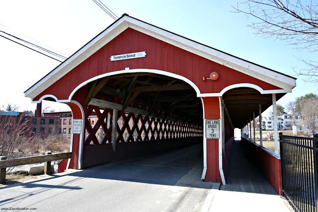 West Swanzey Covered Bridge en New Hampshire
