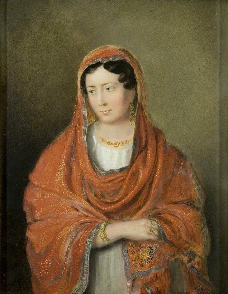 Portrait of an Unknown Lady, Rolinda Sharples
